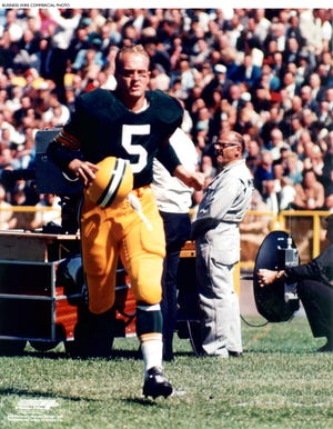 Letters and contracts from Paul Hornung's career with the Green Bay Packers will be auctioned in February.
