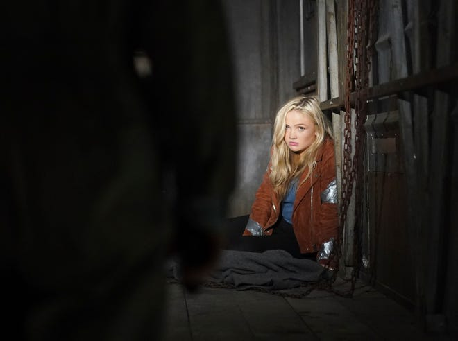 "This image released by ABC shows Natalie Alyn Lind in a scene from ""Big Sky."""