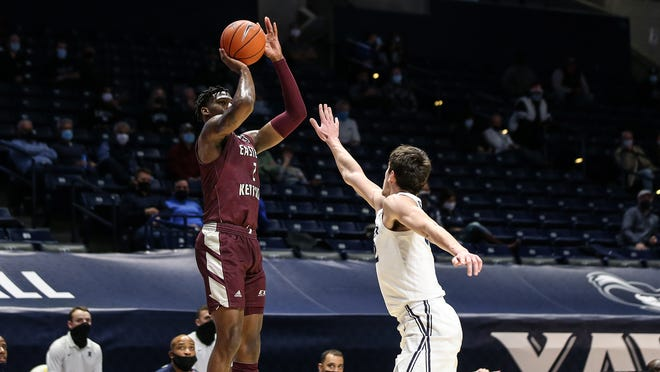 EKU's Tre King was one of five Colonels to score in double figures against South Carolina Upstate.