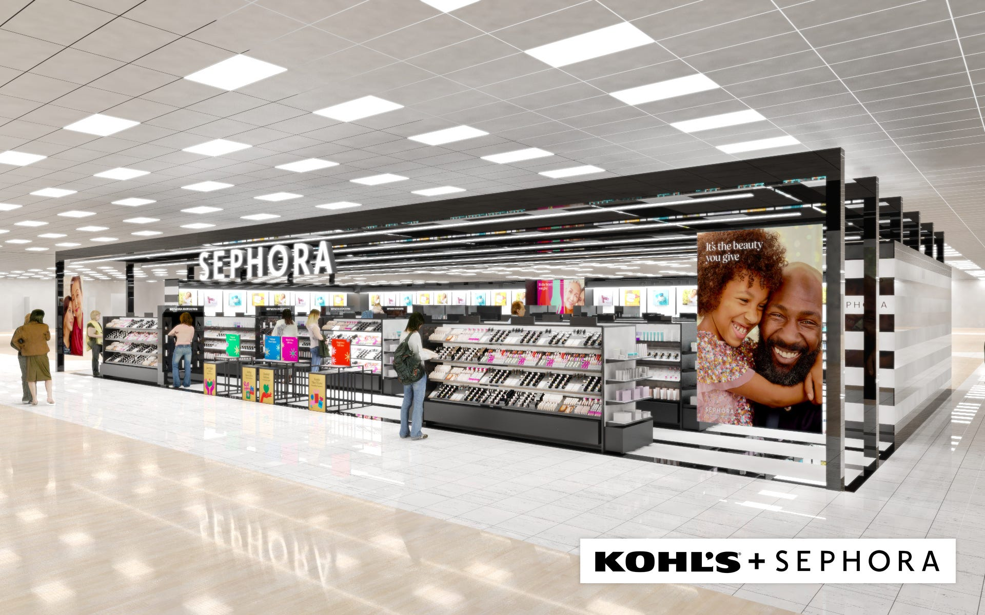 Kohl's unveils first stores getting Sephora shops this fall. Is your store getting a beauty makeover? See the list.