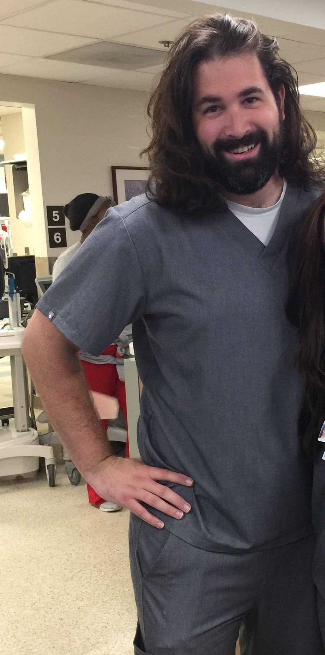 Nurse Paul Pater pushed for metal detectors.