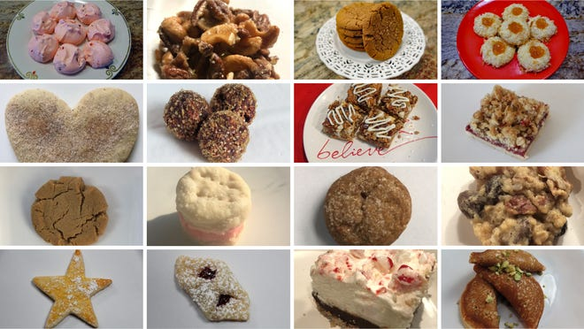 2020 Milwaukee Journal Sentinel Christmas cookie submissions.