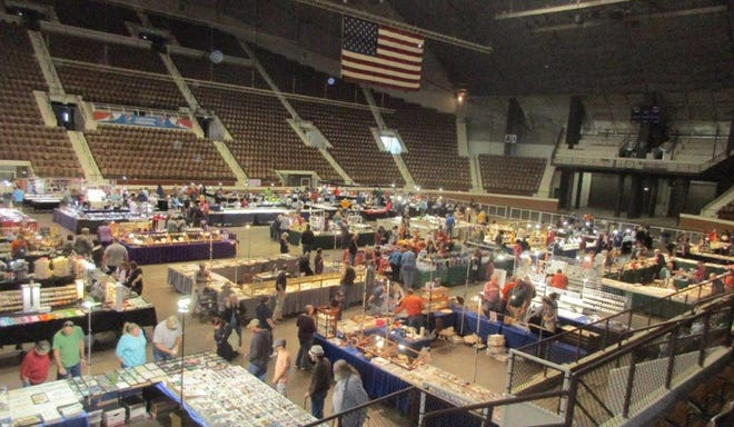 The 50th annual Montgomery Gem, Mineral and Jewelry Show will be held Friday, Saturday and Sunday at Garrett Coliseum.
