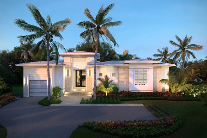 London Bay Homes' stunning new luxury Portmore move-in ready estate is nearing completion on Crayton Road in Naples.