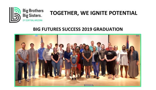 Big Brothers Big Sisters of Central Arizona runs the Big Futures SUCCESS program, which helps kids plan for after high school graduation.