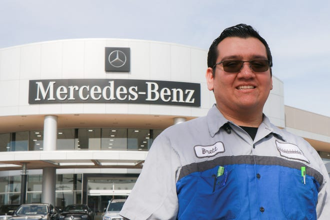 Brett Rudin is currently working at Mercedes Benz of North Scottsdale. He completed his training in the automotive program at the East Valley Institute of Technology, EVIT.