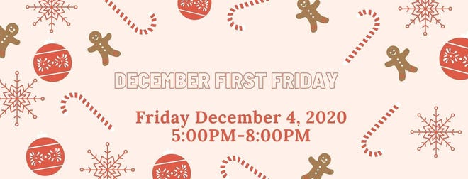 An advertisement for First Friday Downtown Lebanon can be viewed on the Facebook page of the group. The Christmas tree is set to be lit by the Community of Lebanon Association at 6 p.m.