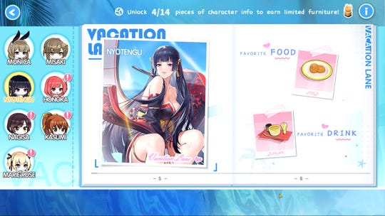 The Vacation Lane collaboration event with Dead or Alive Xtreme Venus Vacation for the Azur Lane mobile game.