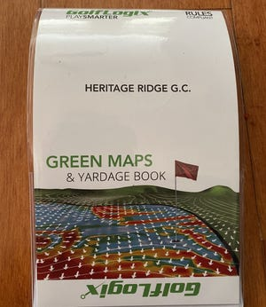 GolfLogix has produced a greens map and yardage book for more than 14,000 U.S. courses, including Heritage Ridge Golf Course in Hobe Sound.