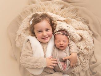 Emma Wren Gibson and Molly Everette Gibson.