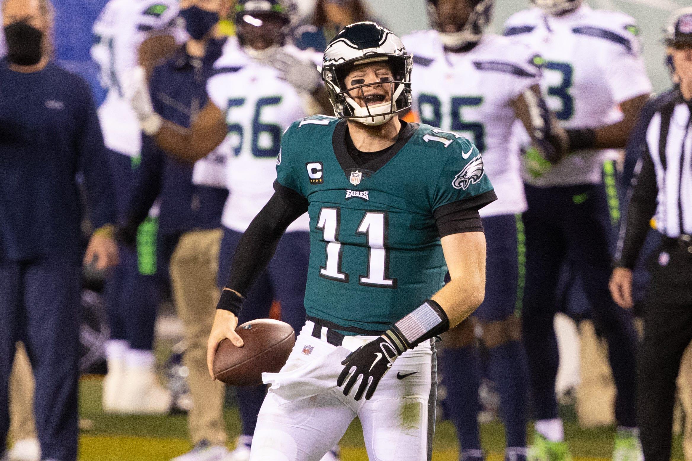 Eagles struggle with their Carson Wentz mess, quarterback quandary