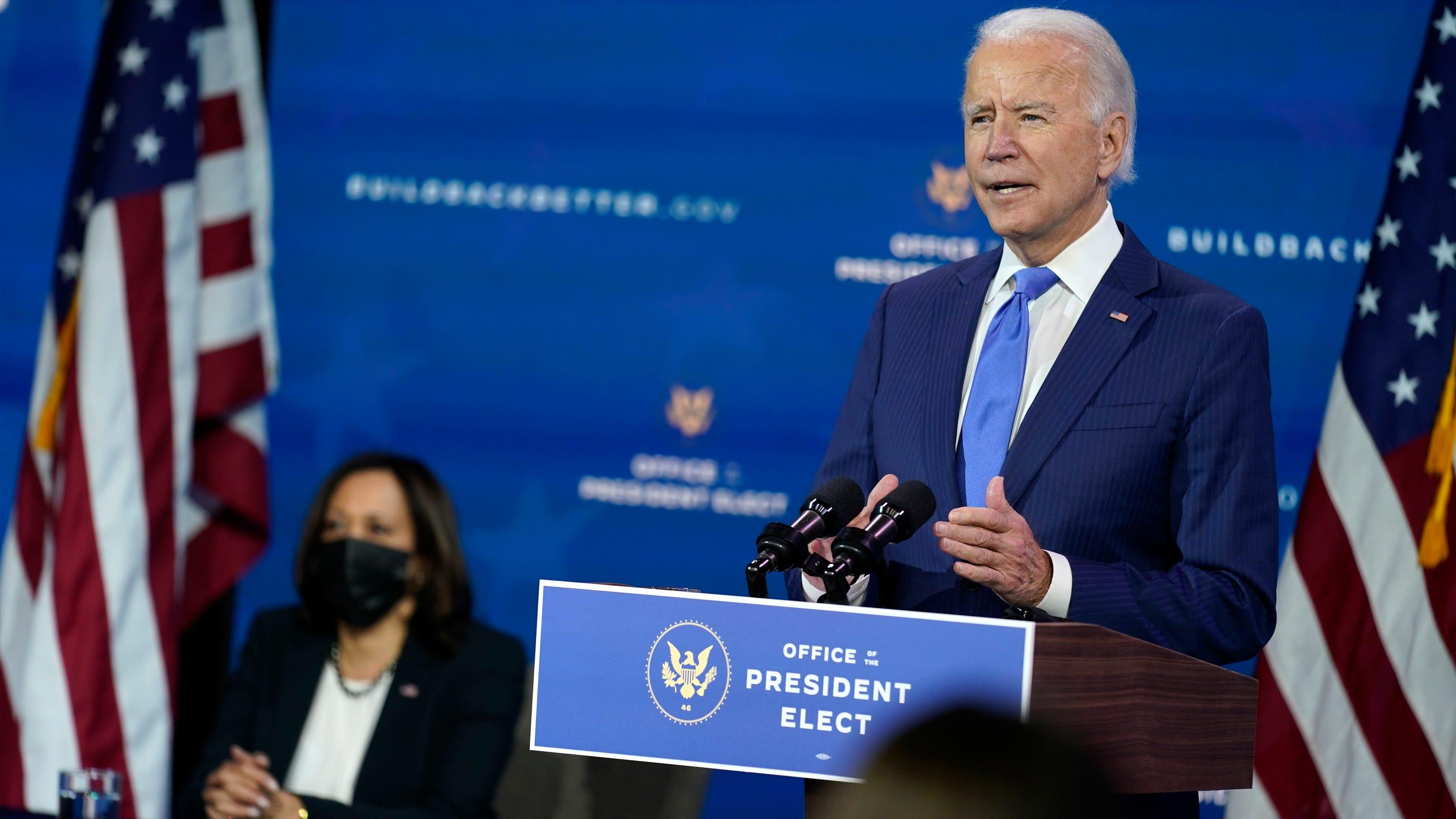 Live politics updates: Kellyanne Conway acknowledges Biden as election winner