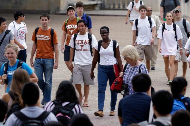 University of Texas on Sept. 27, 2012, in Austin.