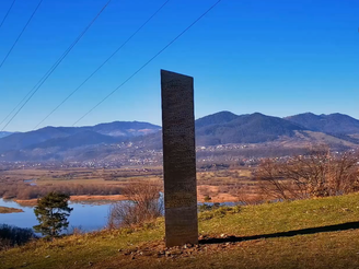 A new Romanian monolith has appeared.