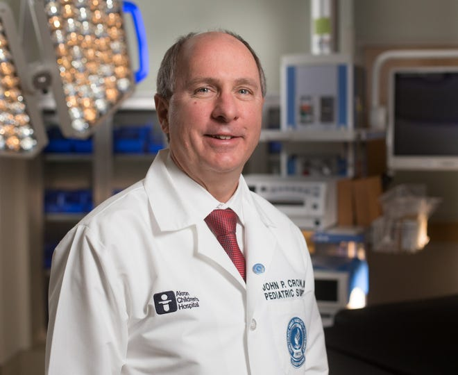 Dr. John Crow, Akron Children's Hospital associate chief medical officer and head of the burn unit.