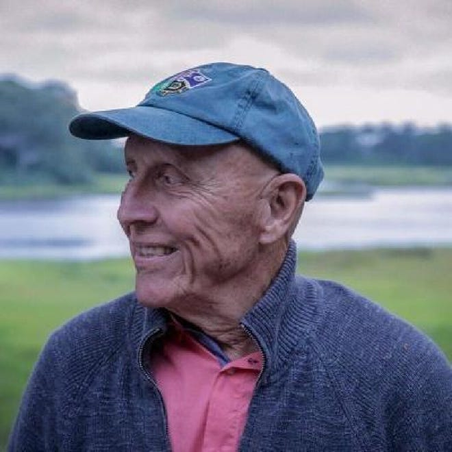 Don Delinks, who never missed a Falmouth Road Race, was remembered as not only athletic but also kind and encouraging to others. [Photo courtesy of Delinks family]