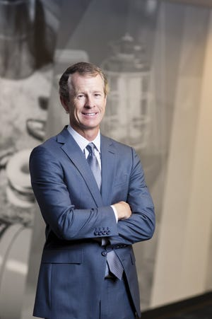 Andy Rose became CEO of Worthington Industries in September.