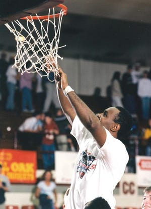 Yon Price helped ERAU to three NAIA National Tournaments, including winning the 2000 National Championship. Price was named to his native Indiana's Basketball Hall of Fame Silver Anniversary Team. Wednesday, Dec. 2, 2020.