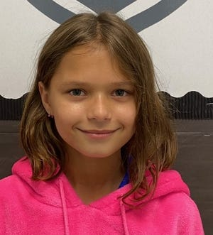 Samantha Roylance participates in Food Brings Hope's after-school program.