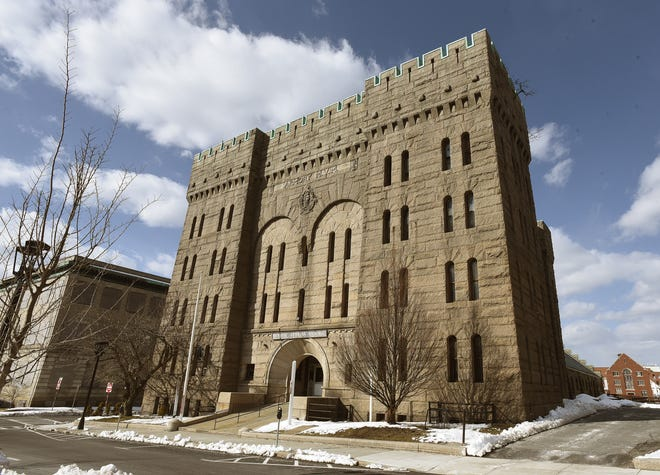 The Bank Street Armory is seen in this Herald News file photo.