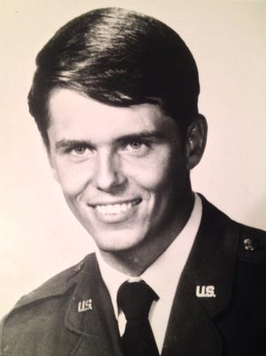 U.S. Air Force Lt. Douglas L. Thierer is shown in this undated photo. Thierer, a graduate of Lowpoint-Washburn High School and Bradley University, died with 12 other airmen during a training exercise in South Carolina on Dec. 5, 1972. A memorial to the airmen will be dedicated Saturday near the crash site.