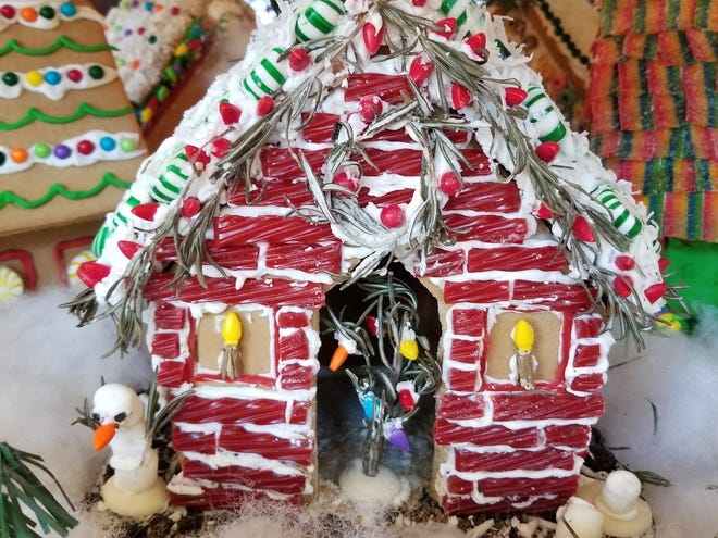 Lubbock's Largest Gingerbread Village will be on display in the lobby of the Overton Hotel & Conference Center Friday through Dec. 31.