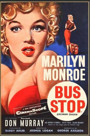 Lubbock is but a footnote in Bus Stop, starring Marilyn Monroe, 1956.
