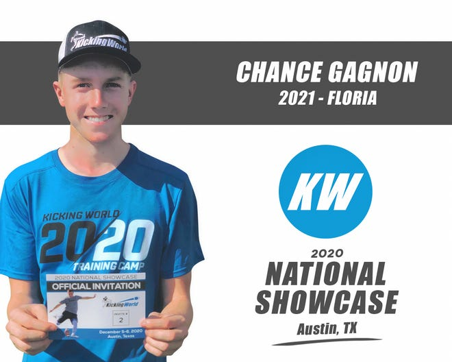 Dwyer's Chance Gagnon will kick at the 2020 Kicking World National Showcase this weekend. He's hoping to get an offer from a Division I program.