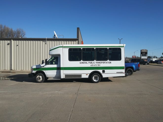 Pratt RSVP transportation buses serve all ages, not just senior citizens, and a recently-received grant now allow for extended hours of service. Rides are available from 8 a.m. to 8 p.m. Mondays-Thursdays, and 8 a.m.-midnight Fridays and Saturdays. Call for pickup at 620-672-7811. All in-town rides are 50 cents per ride.