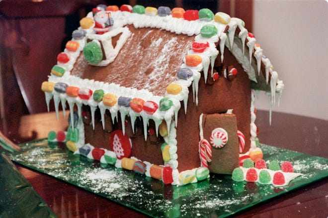 Gingerbread House Decorating Contest kits will be available for pickup, Dec. 4-5, from Artists' Exchange, in Cranston.