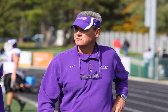 Larry Kehres won 11 NCAA Division III national championships in 27 seasons as Mount Union's head football coach. (Photo courtesy of the University of Mount Union)