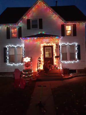 Jamie Brazle sent this picture of her house at 114 Elm St NE.