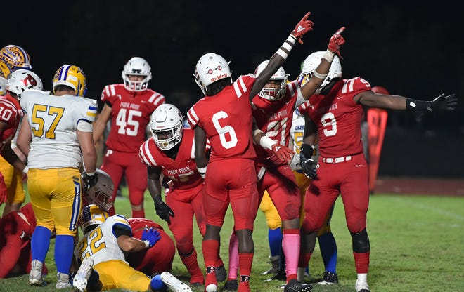 The Palmetto Tigers will be looking to make a point against Lakeland Lake Gibson in the Class 6A-Region 3 final Friday night at Harllee Stadium in Palmetto.
