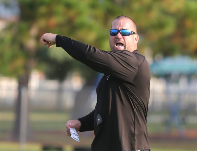 Venice High coach John Peacock will try to lead the Indians to a fifth straight region title Friday against St. Thomas Aquinas.