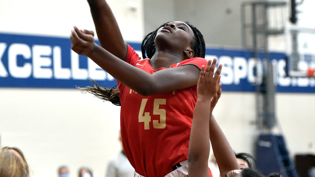 Cardinal Mooney girls even record at 2-2