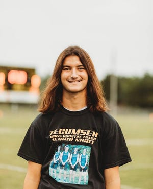 Tecumseh Senior Kulson Yates is a finalist for Student of the Year
