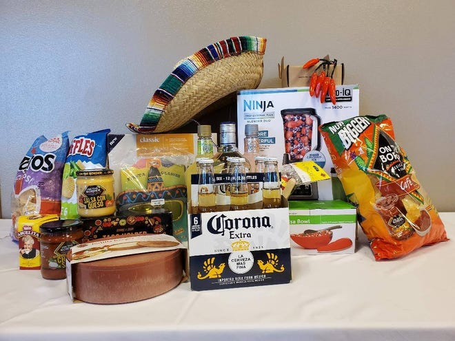 The Fiesta Basket is up for grabs at the Fairchild Auxiliary's annual basket faire.