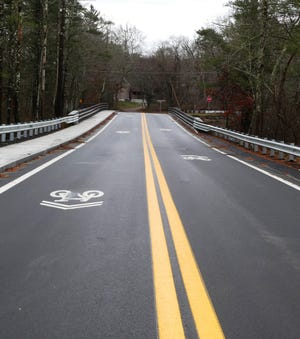 The Medal of Honor Bridge, formerly the Rochester Road/Pine Street bridge, joins the neighboring towns of Middleboro and Carver.