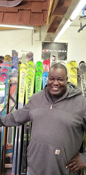 Lancaster's Mark Welch, longtime employee of Strand's ski shop in Worcester.