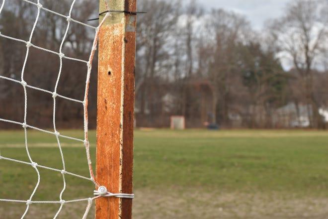 WORCESTER--The ballfield behind Chandler Magnet School in Worcester.
