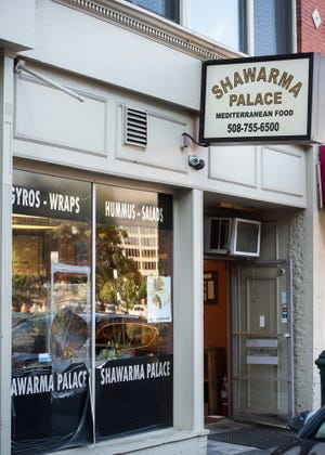Shawarma Palace will be relocating from this location at 3 Pleasant St. to 20 Franklin St. [T&G File Photo/Ashley Green]