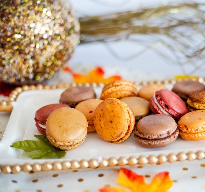 An assortment of macarons in fall flavors from Le Macaron. The pastry shop is expected to open in Gainesville at Celebration Pointe in February 2021. [Courtesy of Le Macaron French Pastries]
