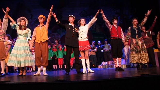 """Tuscaloosa Children's Theatre performs """"Babes in Toyland"""" in this file photo.  [File photo]"""