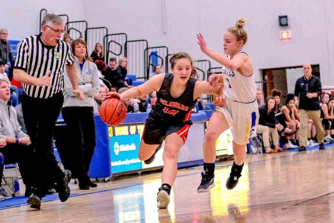 Junior guard Chloe Jeffers is among the key returnees for the Delaware Hayes girls basketball team, which plans to continue its annual improvement under fourth-year coach Lou Tiberi.