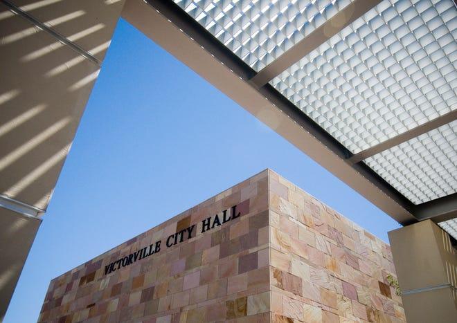 Victorville City Hall.