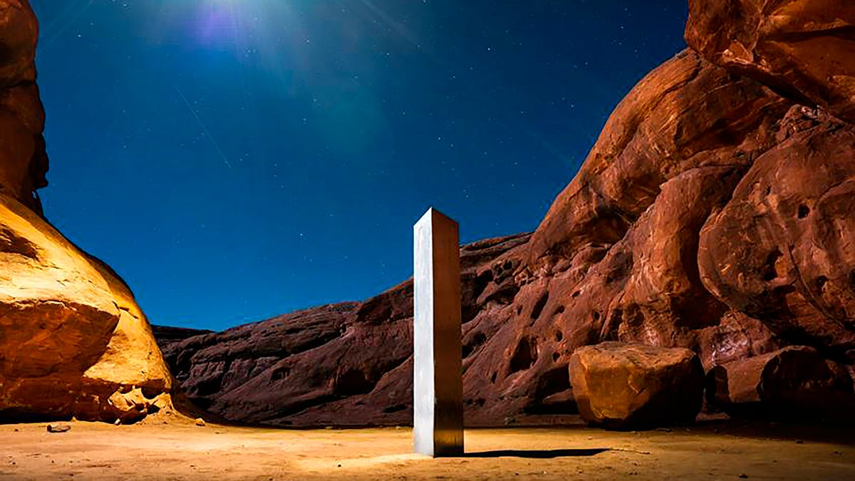 Bureau of Land Management: Monolith toppled by group who said leave...