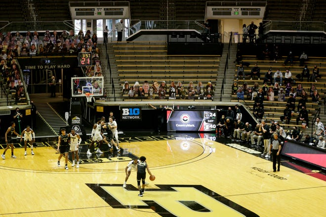 Inside Mackey Arena as the Purdue Boilermakers take on the Oakland Golden Grizzlies, Tuesday, Dec. 1, 2020 in West Lafayette.