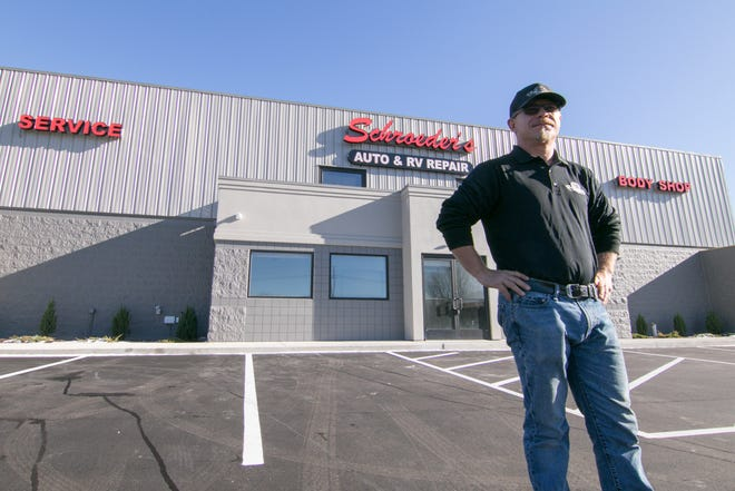 Matt Schroeder, owner of Schroeder's Auto and RV Repair, said Wednesday, Dec. 2, 2020 he looks forward to doing business in his new location off D-19 south of Interstate-96. He hopes to move into the new location by the first of the year.