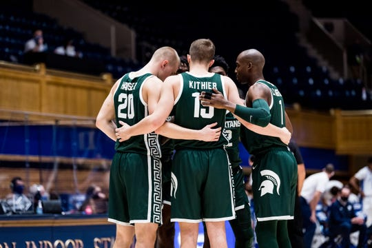 Michigan State beat Duke, 75-69, on Wednesday night