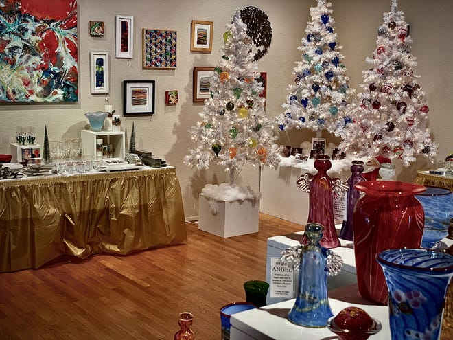 The 51st annual Holiday Fair at the Mansfield Art Center is taking place through Dec. 30.